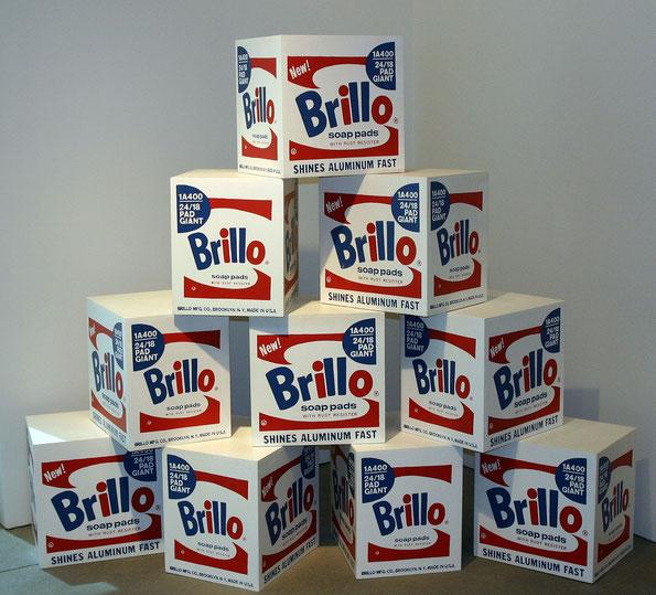 "Andy Warhol, ""Brillo Box"""