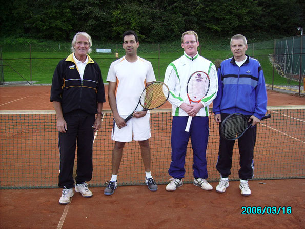 Finalisten v.l. Deutsch Gerhard,Glaser Christian, Gröller Dirk u. Himler Albert