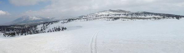 積雪期の裏岩手縦走路