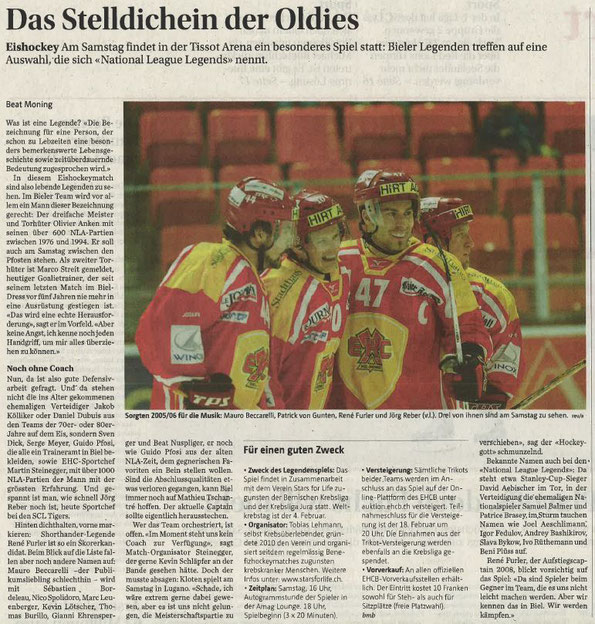 Bieler Tagblatt vom 1.2.18