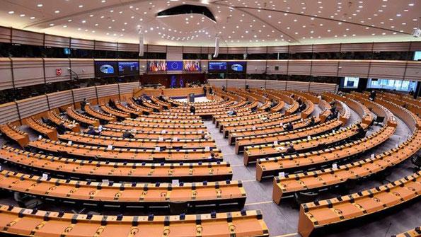 Le 17 décembre 2020, le Parlement européen a dénoncé les violations des droits des Ouïghours et adopté une résolution condamnant le système chinois de travail forcé mis en place contre les minorités ouïghoure, kazakhe et kirghize.