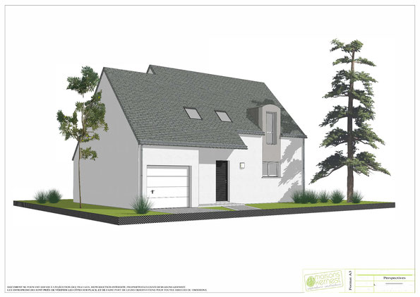 Pour construire sur un terrain à Pipriac 35550, choisissez Maisons Kernest, le constructeur organisé en coopérative avec des artisans locaux