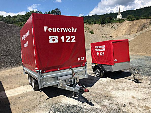 Anhänger Feuerwehr Pischeldorf, ÖLWEHR-Anhänger, KAT-Anhänger