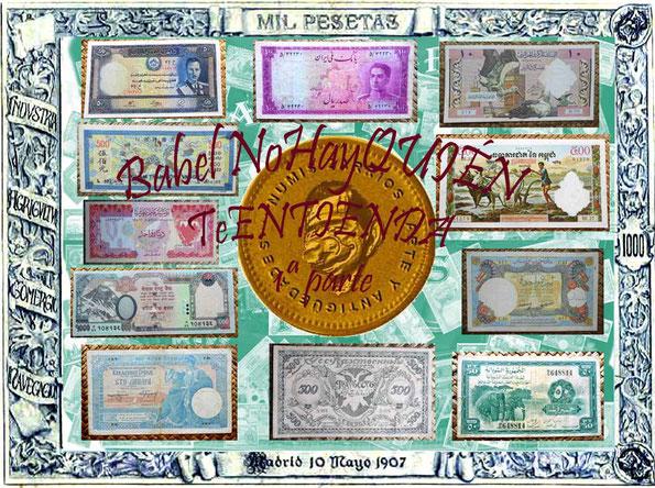 Babel NohayQuienteEntienda1 un paseo a través de billetes con textos ajenos a Occidente