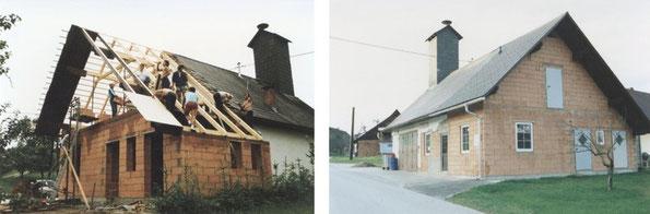 Umbau des Rüsthauses 1989