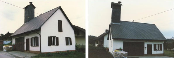 Rüsthaus vor dem Umbau 1989