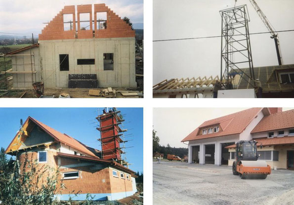Neubau des Rüsthauses 2002 - 2004