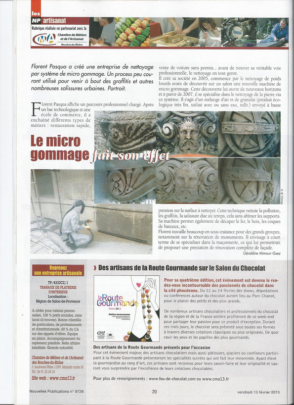 Article de presse sur FPServices