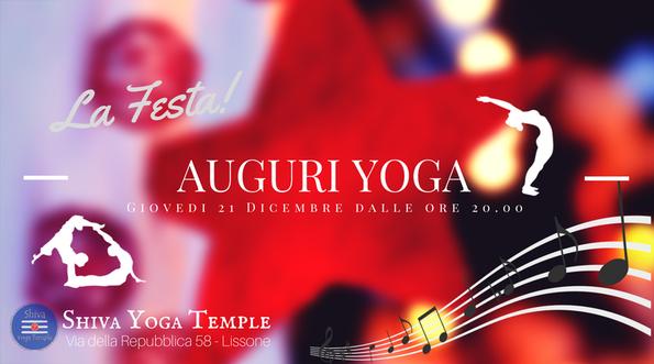 Auguri Di Natale Yoga.Festa Del Natale Il Luogo Di Incontro Per Lo Yoga