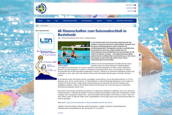 waterpoloworld.de vom 06.09.2013