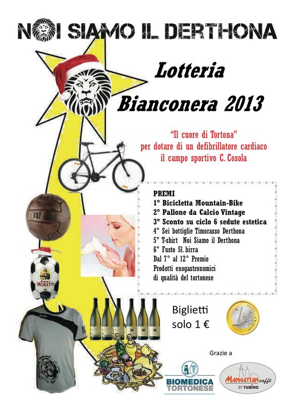 Lotteria Bianconera 2013