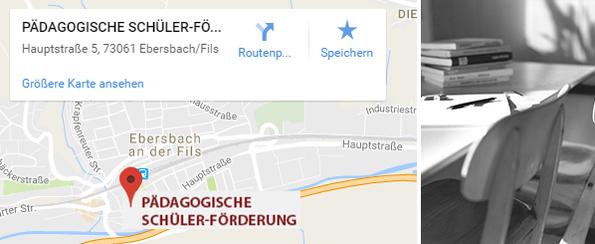 Pädagogische Schülerförderung Standort Ebersbach