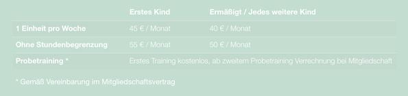 Aikidoschule Berlin eV - Beiträge Jugendliche 13 bis 17 Jahre