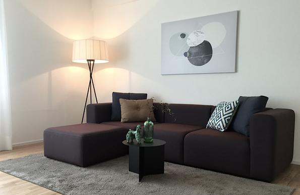 Innenarchitektur und Planung für Muster-Wohnungen