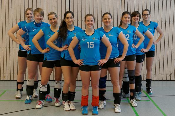 Saison 2015/16 Die 1. Damen sind (von links): Anita, Ailyn, Esther, Christina, Julika, Katja, Clara, Svenja, Lisa  ( Es fehlt Jessi