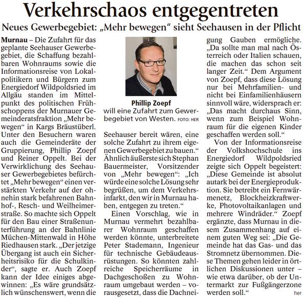 Murnauer Tagblatt 06.11.2017