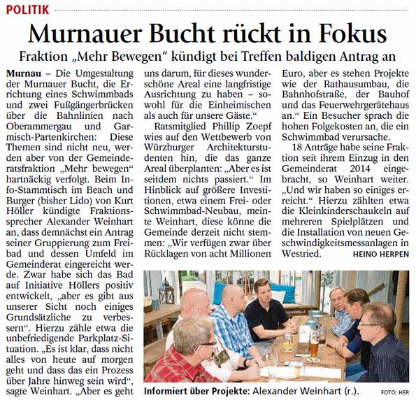 Murnauer Bucht rückt in Fokus