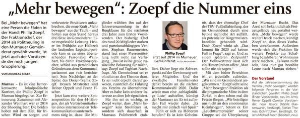 Murnauer Tagblatt 09.11.2017