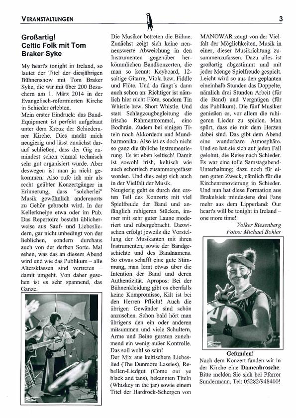 Quelle: Die Kanzelschwalbe Apr./Mai 2014