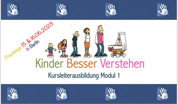 Praxistage KBV-Kursleiter (Modul 1 Das Kleinkind)