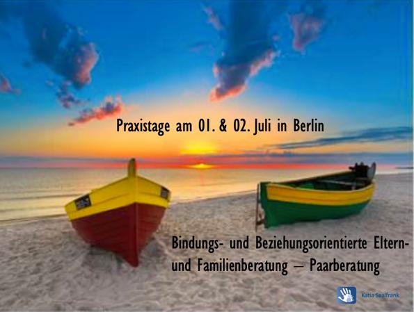 Praxiswochenende für Berater & Coaches in Berlin: Vertiefung von Praxis in der Paarberatung