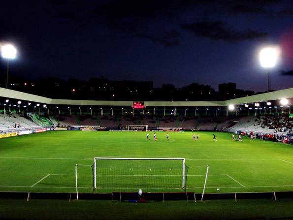 El estadio de A Malata, con capacidad para 12.000 espectadores.