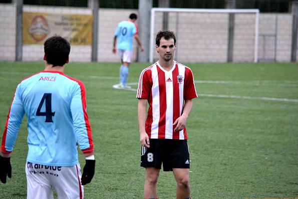 Laurentz fue uno de los destacados ante el San Prudencio. Salió tras el descanso y logró el 1-2.