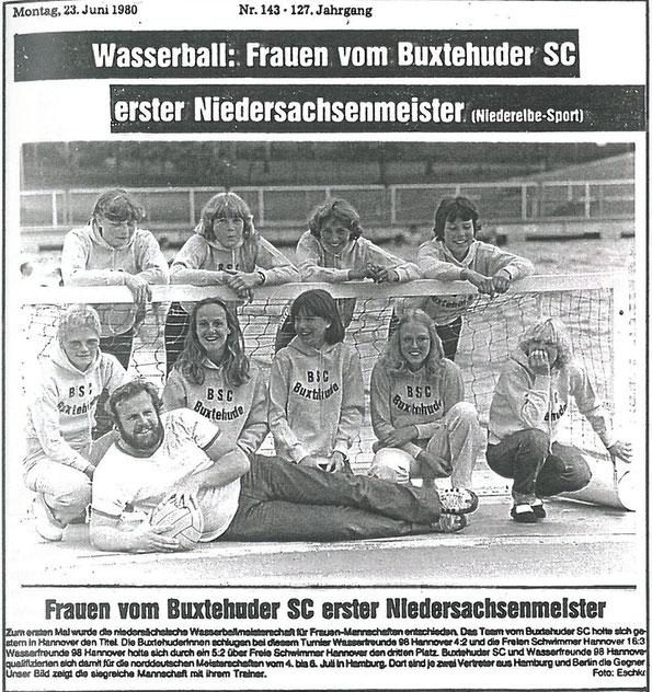 Buxtehuder Tageblatt vom 23.06.1980