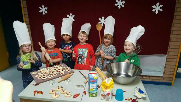 Die Weihnachtsbäckerrei ist eröffnet!!!