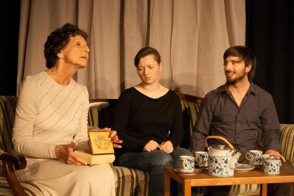 Irmgard Sen Gupta, Birte Hellwig und Patrick Schmidt (vlnr - Foto: Sven Leseberg)