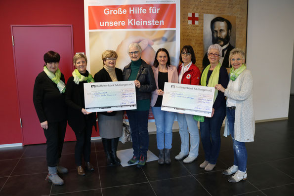Gruppenbild von der Spendenübergabe