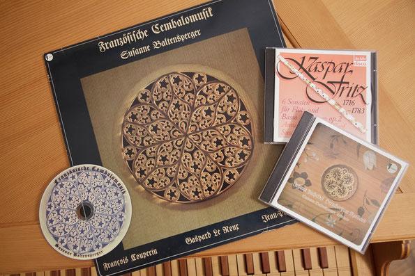 Tonaufnahmen (CD) von Susanna Baltensperger
