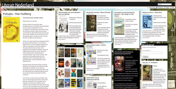 literair nederland met recensie preludes