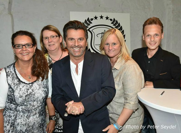 Astrid, Kati, Thomas, Yvette and Andreas (Andreas Unterberg - Freelancer for Thomas-Anders-Online)