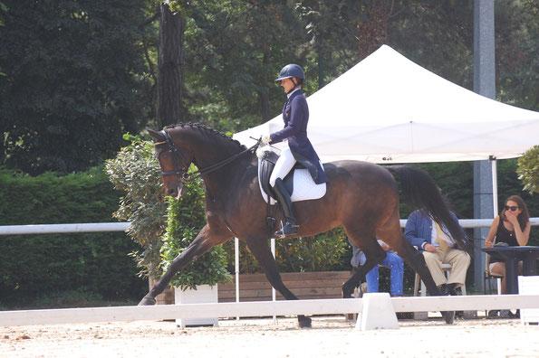 ROSEBUD cheval de Suzanne ISORE