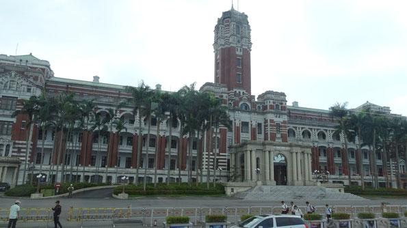 Taipeh, Taipei, Taiwan. Großstadt, Sightseeing, Sehenswürdigkeiten, Präsidentenpalast, Präsident, Palast