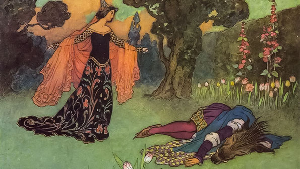 La Belle et la Bête - Illustration de 1913