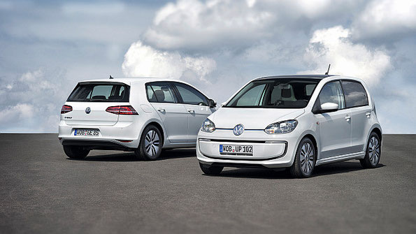 e-up! und e-Golf die Elektroautos von VW – Weltpremiere zur IAA 2013 Bild: VW AG