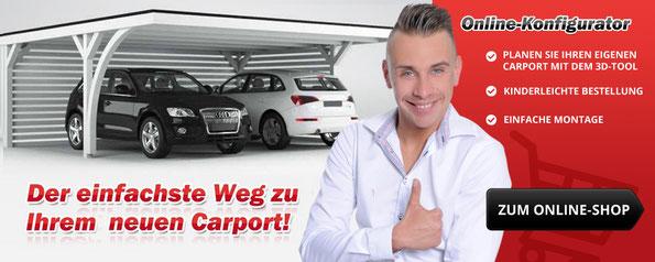 Carport kaufen bei Easycarport.de