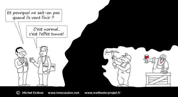 l'effet tunnel en gestion de projet