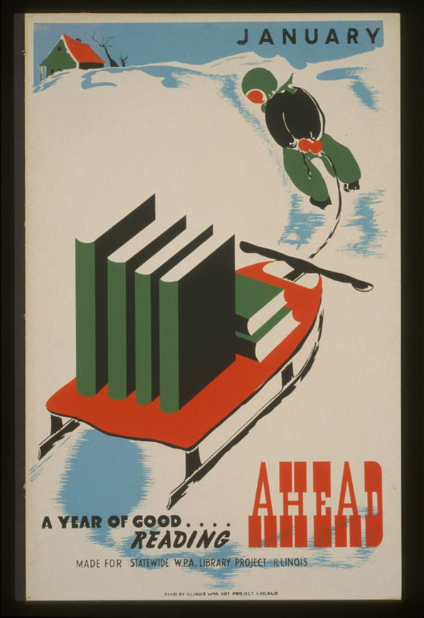 WPA Reading Poster