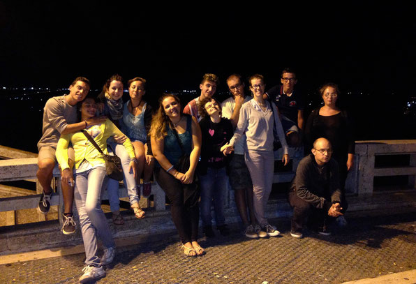 Anche la notte si riempie di luce, con l'amore - Loreto, Campo Giovani 2014