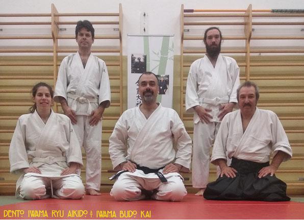 Da sx in alto: Claudio, David, Silvia, Enrico e Paolo.