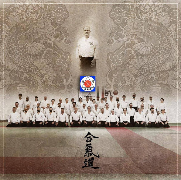 I partecipanti nella rielaborazione grafica di Iwama Ryu Art by Chino Yuen.
