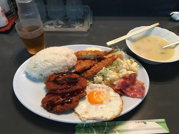 ハイウェイ食堂 Bランチ 沖縄食堂