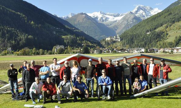Abschlussfliegen Ausgleiten Falkenclub Ahrntal am, 16. Oktober 2016
