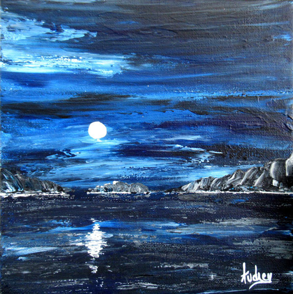 tableau-paysage-ocean-nuit-lune-peinture-marine-artiste-peintre-royan-audrey-chal