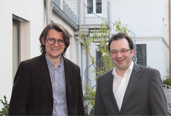 Manu und Chris, die Gründer der Softwarepunks aus München
