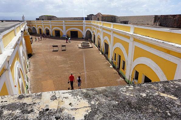 Main Plaza im Castillo El Morro, San Juan