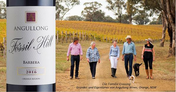 Rotwein Australien Wein Australische Weine Weingut Barbera Angullong Shiraz Viognier Online-Shop